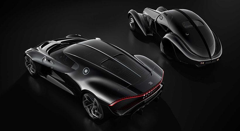 Bugatti La Voiture Noir, el auto de .9 millones llega a Ginebra