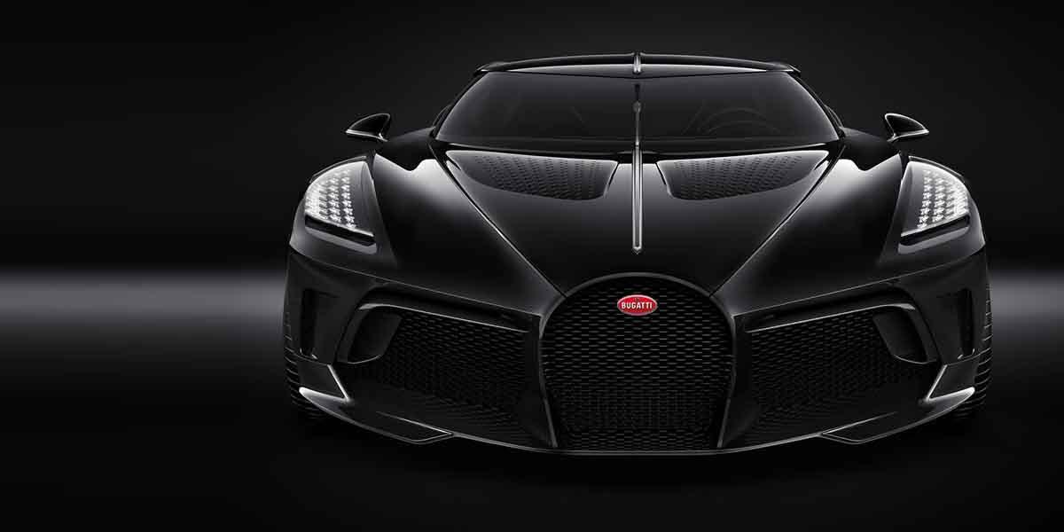 Bugatti La Voiture Noire tardará dos años para fabricarse