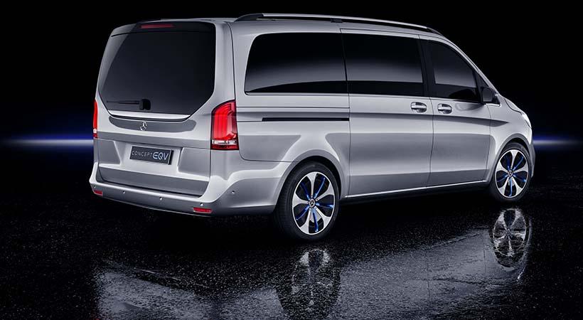 Mercedes-Benz Concept EQV, minivan 100% eléctrico del futuro
