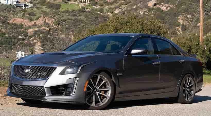 video Cadillac CTS-V 2019