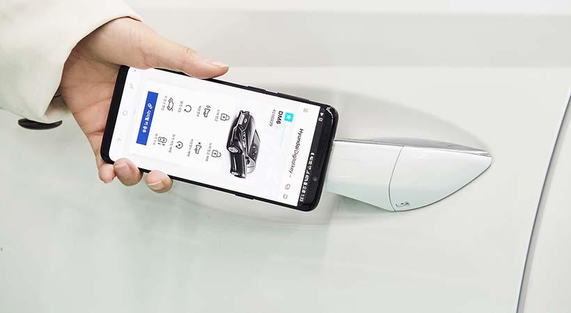 Llave digital Hyundai