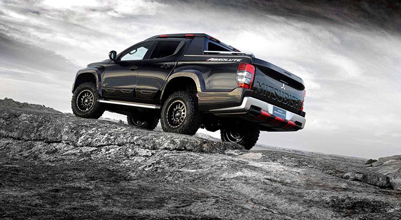 Mitsubishi Triton Absolute Concept, alto desempeño para una pick-up