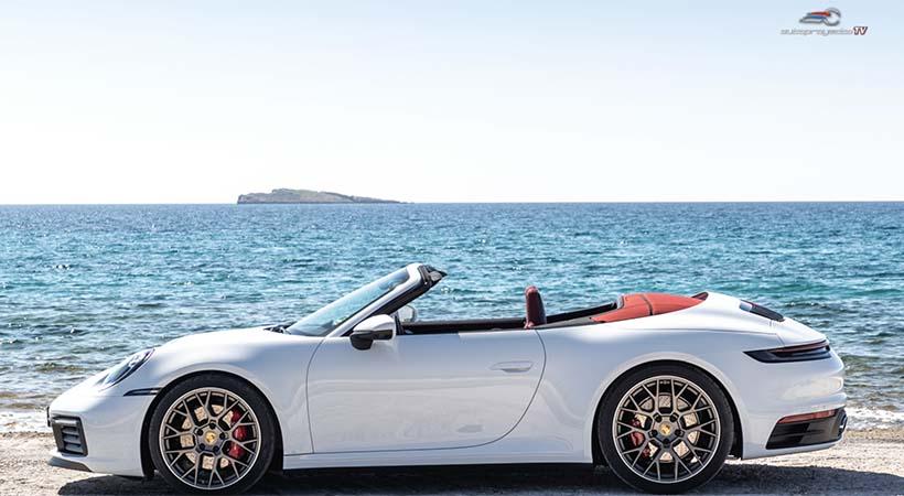Dieta Porsche 911 Cabriolet 2020, 7% menos peso que el anterior