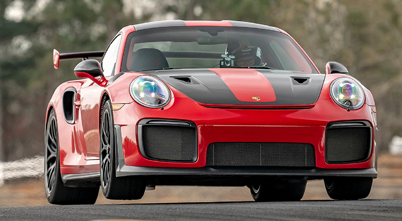 Récord Porsche 911 GT2 RS en el Michelin Raceway Road Atlanta