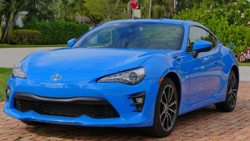 Test Drive Toyota 86 2019