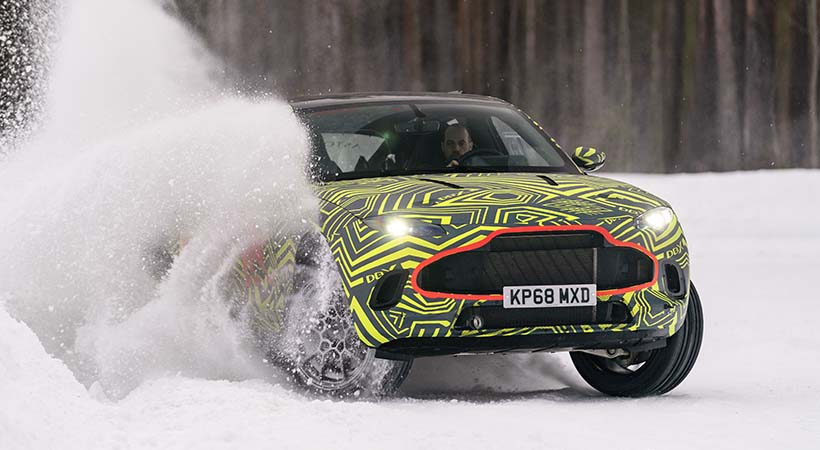 Test Drive extremo Aston Martin DBX 2020