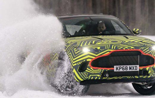 Test Drive extremo Aston Martin DBX 2020