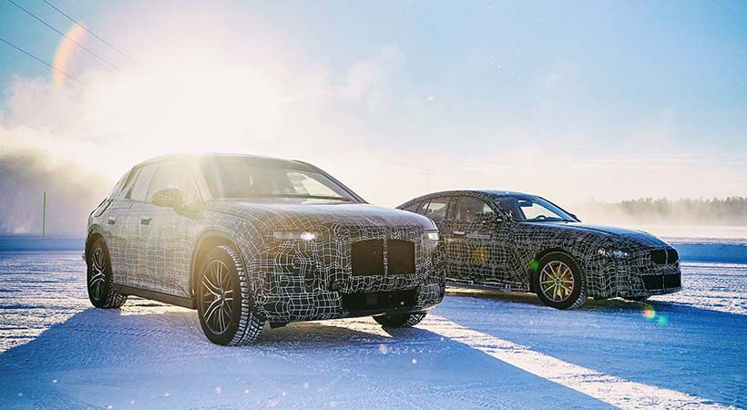 Triple Test Drive extremo de invierno BMW i
