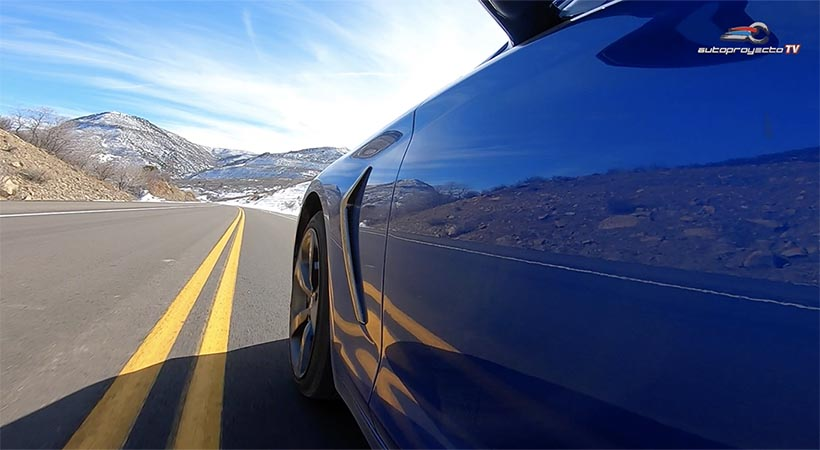 Test Drive de Invierno Genesis G70 2019