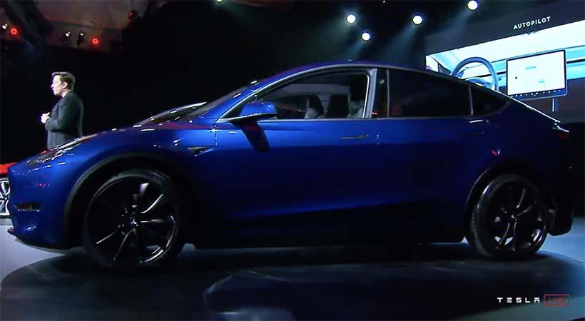 Debut Tesla Model Y 2020; 7 pasajeros, 300 millas, ,000