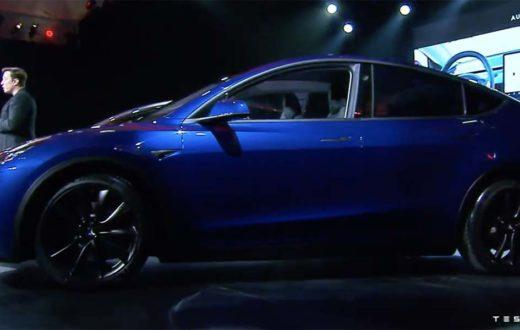 Debut Tesla Model Y 2020