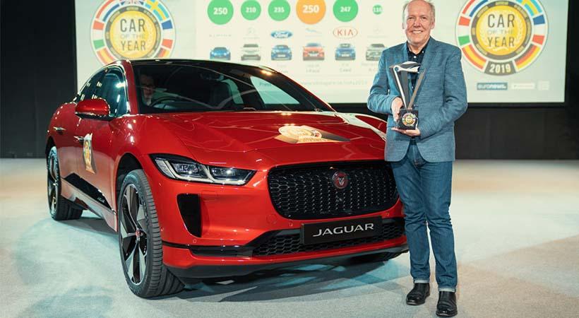 Jaguar i-Pace Auto Europeo 2019, entregado en el Auto Show Ginebra