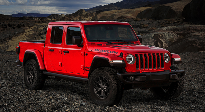 Jeep Gladiator Launch Edition 2020