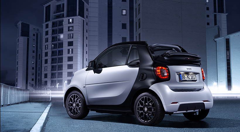 smart con motor de gasolina