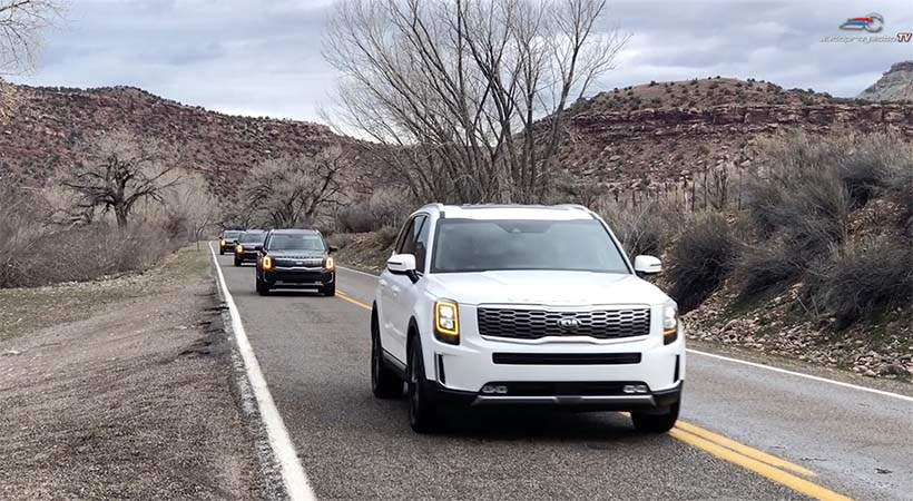 Video Test Drive Kia Telluride 2020