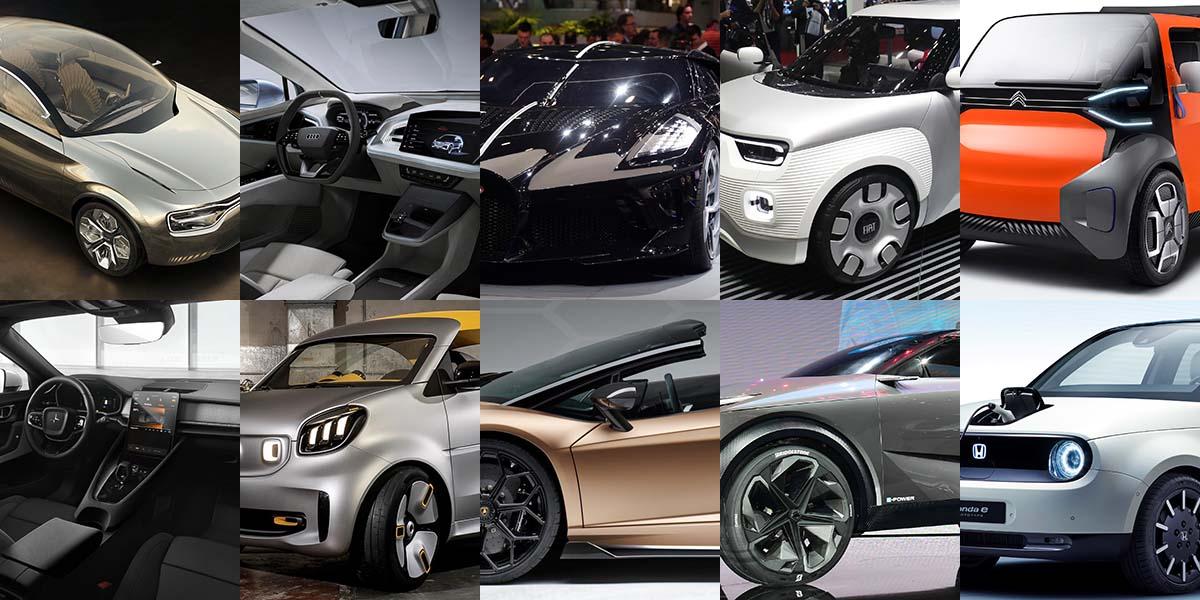 Top 10 parabrisas sorprendentes en el Auto Show Ginebra