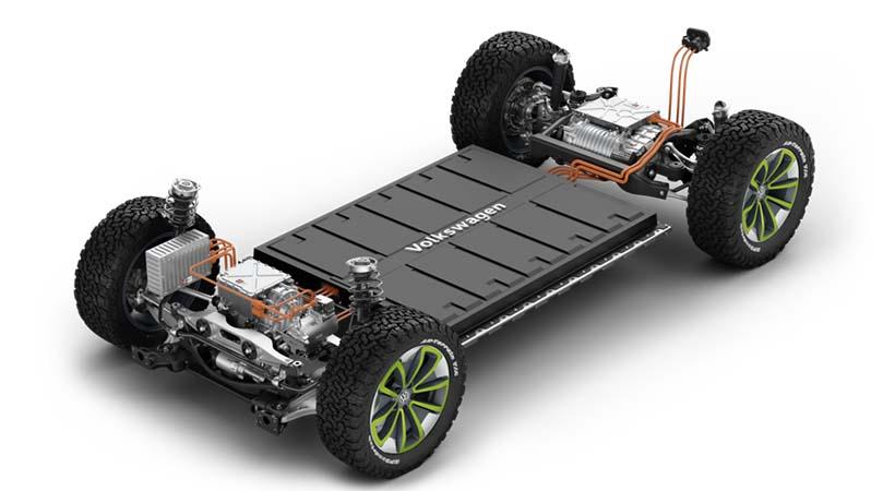 Plataforma eléctrica VW MEB