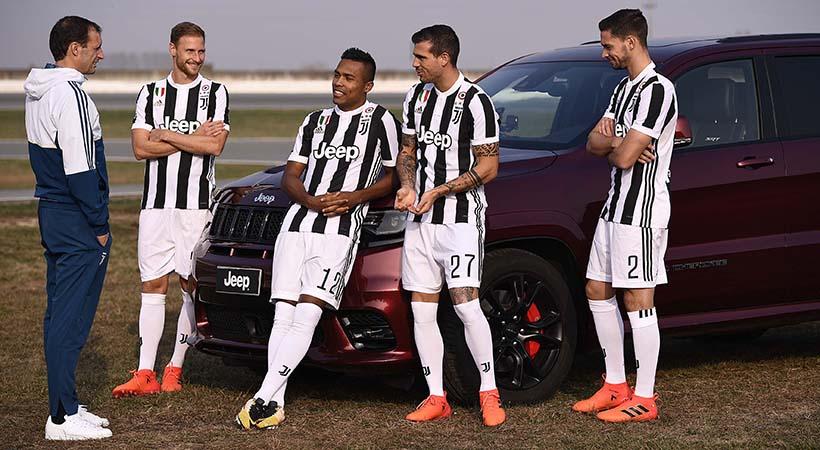 8vo. Sceudetto Jeep con el Juventus en la Serie A italiana