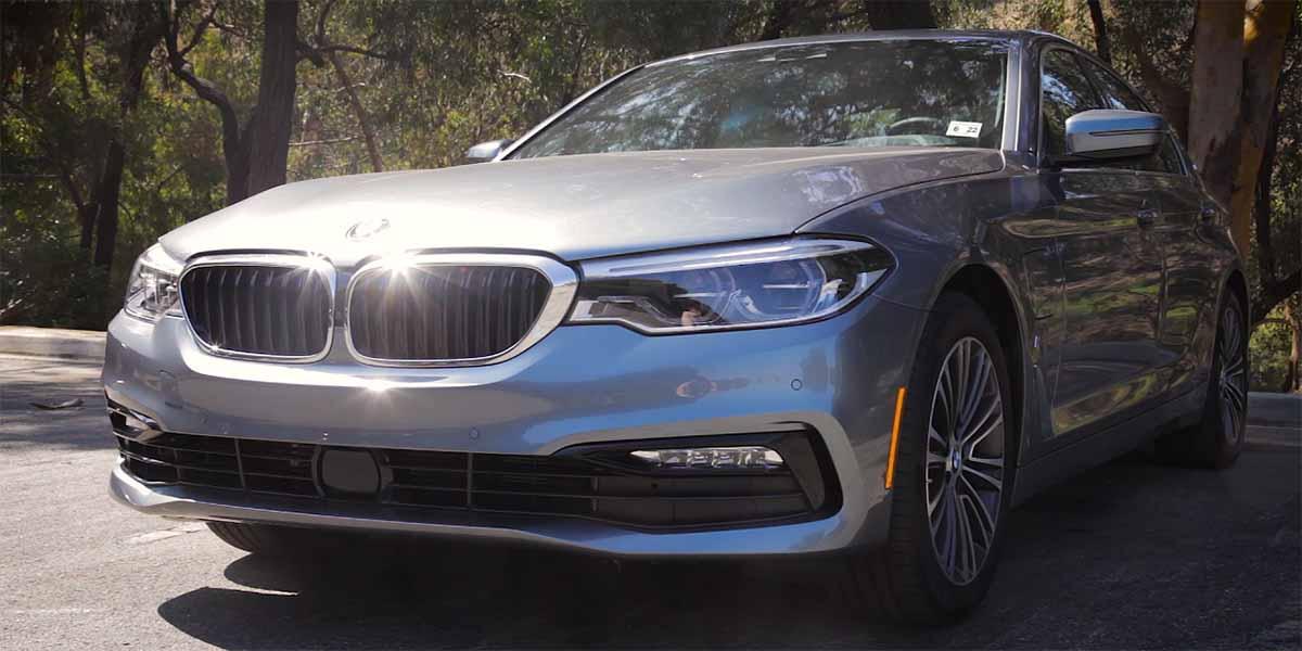 video BMW 530e XDrive iPerformance, rendimiento y eficiencia