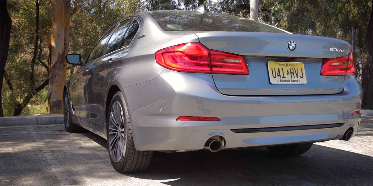 BMW 530e XDrive iPerformance, seguridad