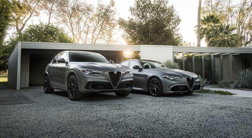 Alfa Romeo Giulia y Stelvio Quadrifoglio NRING, debut en NYIAS
