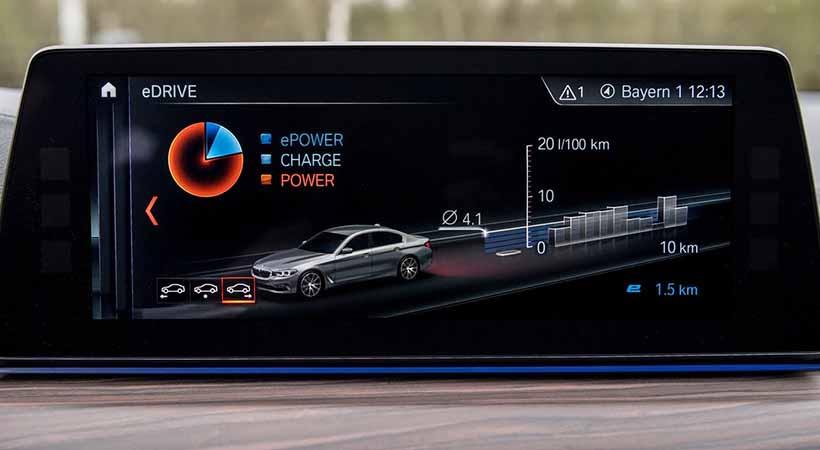 BMW 530e XDrive iPerformance, conectividad a bordo