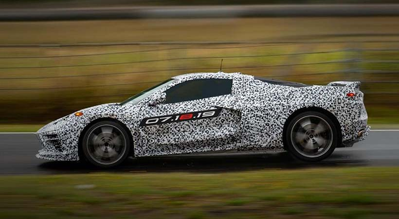 Confirmado Chevrolet Corvette C8 2020