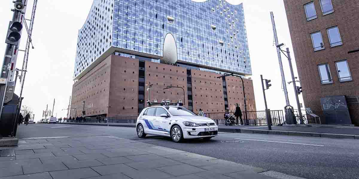 Volkswagen prueba sus vehículos autónomos en Alemania