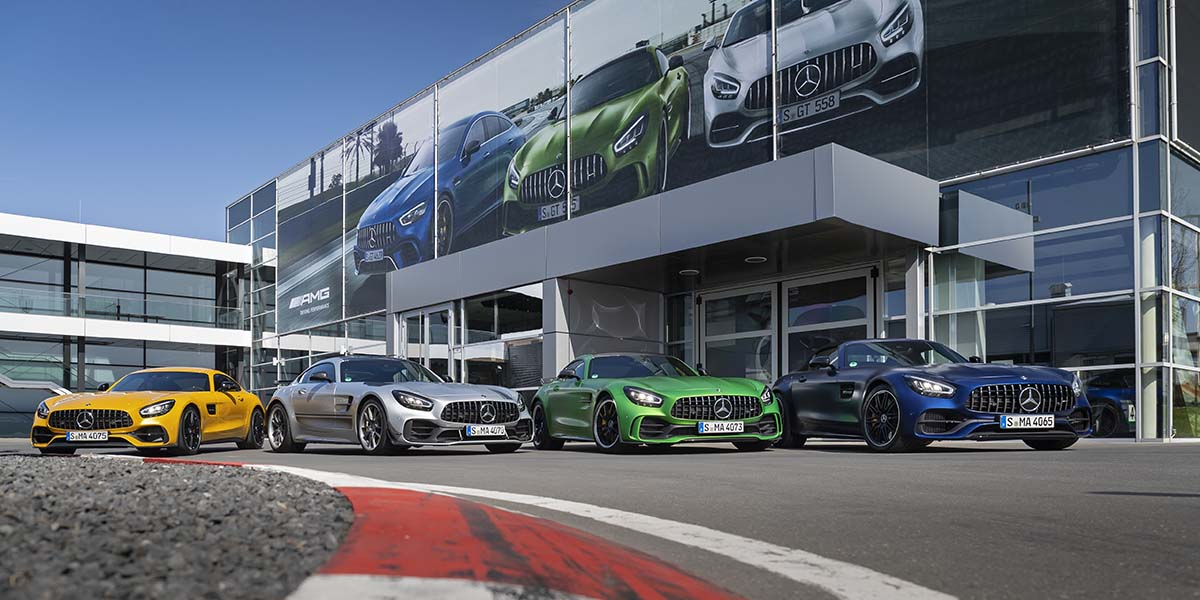 Familia Mercedes-AMG GT 2020