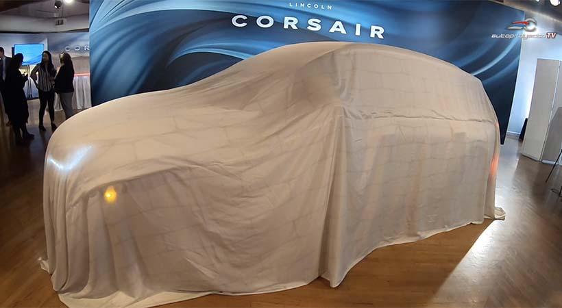 Debut global Lincoln Corsair 2020