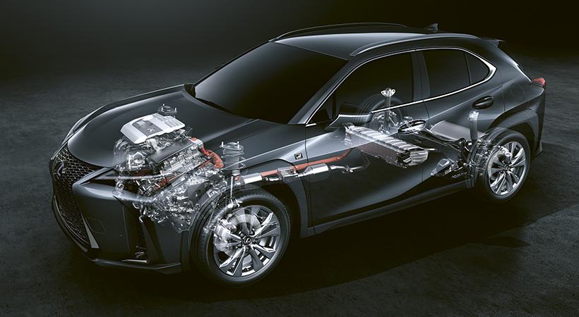 Lexus UX 250h F Sport 2019
