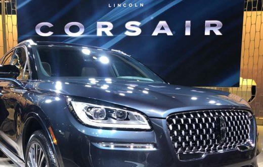 Debut Lincoln Corsair 2020