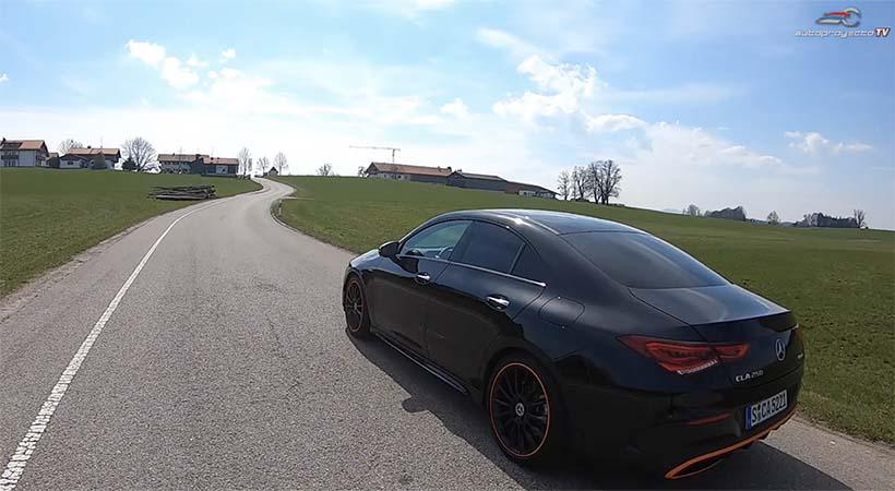 Video Mercedes-Benz CLA 2020, 1er. vistazo en Múnich, Alemania