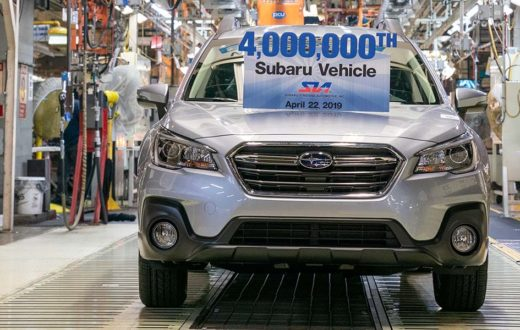 Subaru 4 millones MADE IN USA