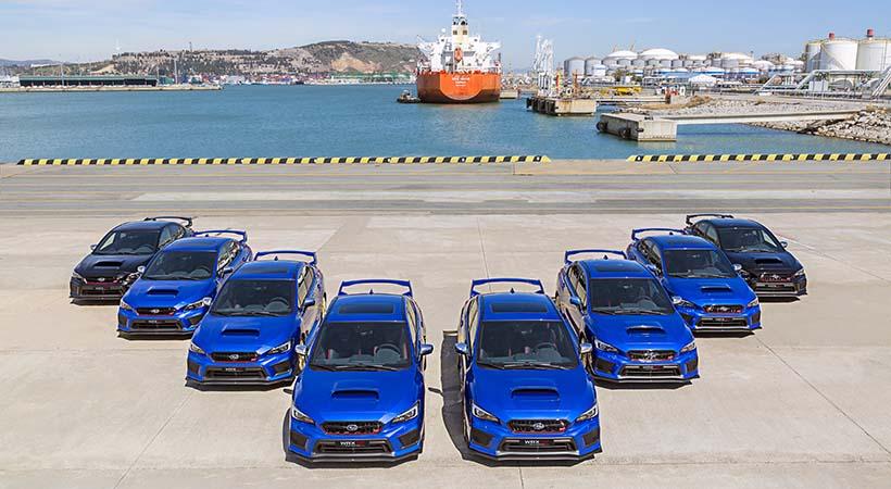 Subaru. WRX Final Edition