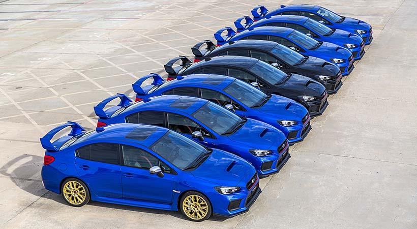 Subaru WRX STI Final Edition