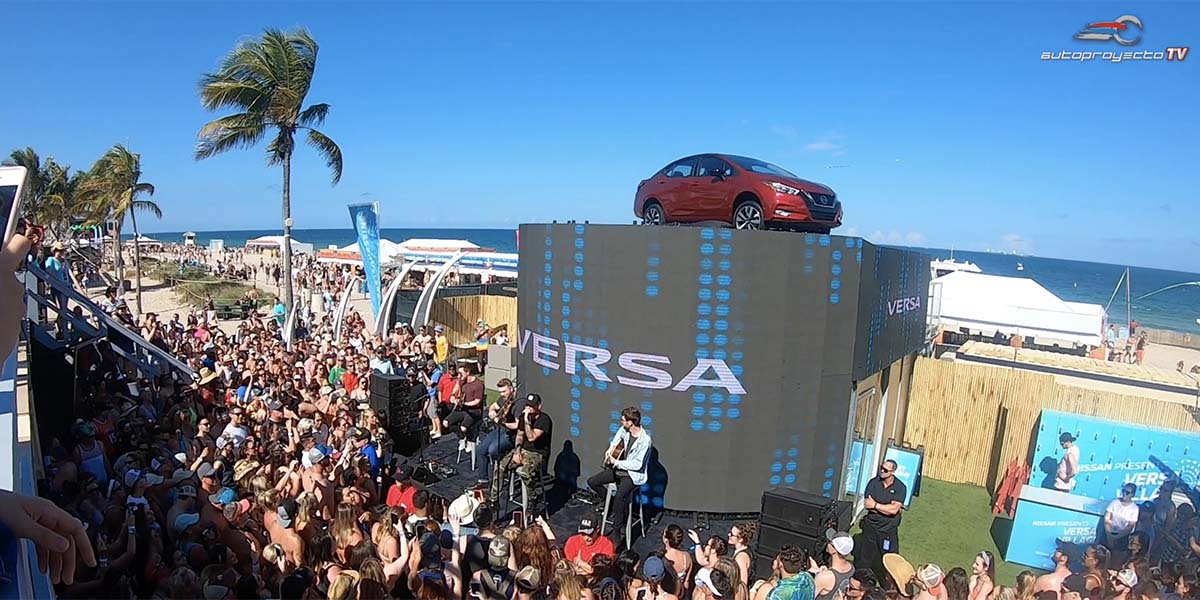 Debut Nissan Versa 2020