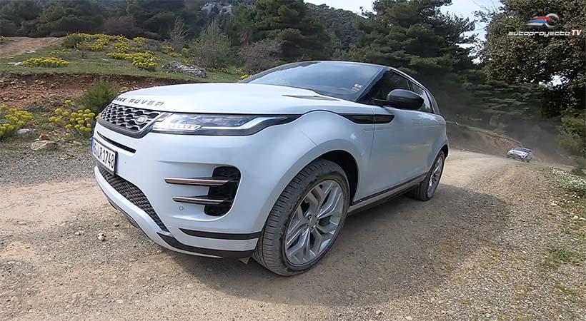 Video Test Drive Range Rover Evoque 2020