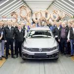 Volkswagen Passat 30 millones es un Plug-in Hybrid