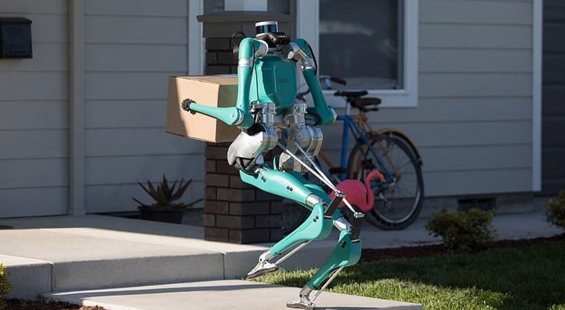 Ford Digit el robot que llevará a casa tus compras online