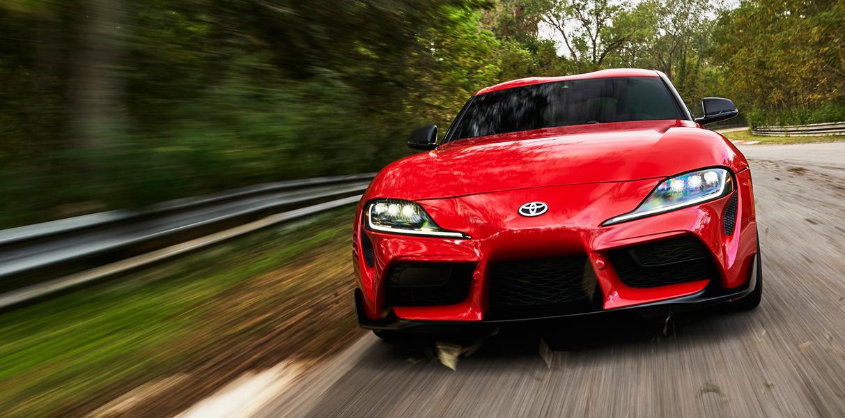 Video Toyota Supra 2020, 1er. vistazo en la carretera y en la pista