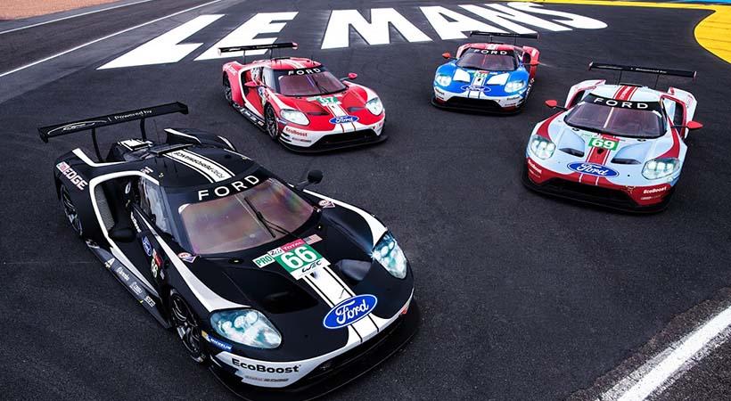 Homenaje Ford GT