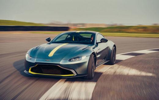 Aston Martin Vantage AMR, con transmisión manual pero limitado a 200 unidades