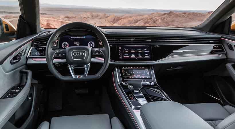 video Audi Q8 Quattro 2019