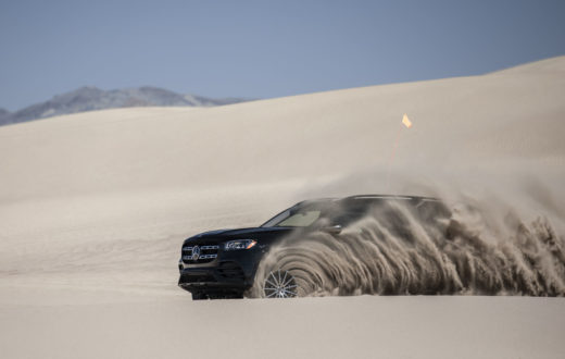Video Mercedes-Benz GLS 2020, primer vistazo sobre Big Dune, Nevada