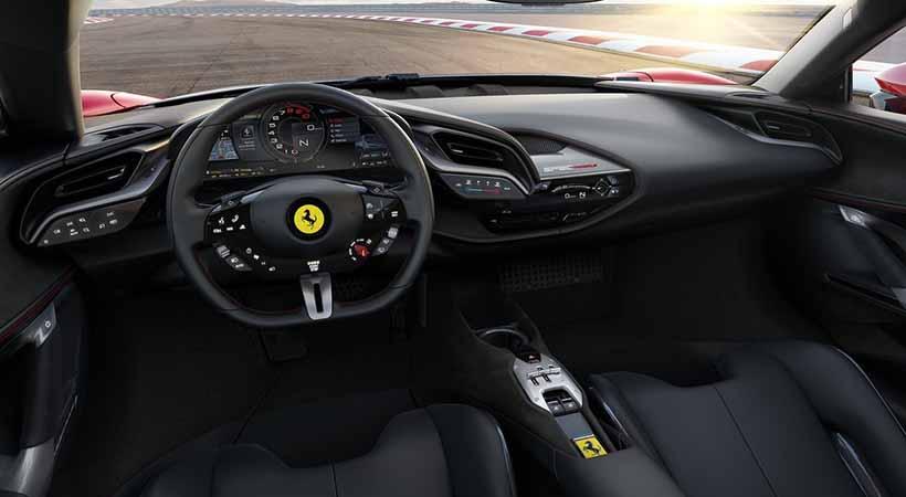coche híbrido de Ferrari