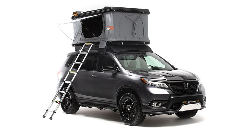 Honda Passport Adventure Lifestyle ProjectHonda Passport Adventure Lifestyle Project