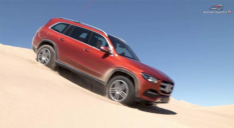 Video Mercedes-Benz GLS 2020, primer vistazo sobre Big Dune, Nevada