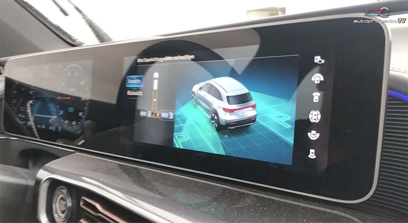 Video Mercedes-Benz Safety Assist en escenarios de ciudad