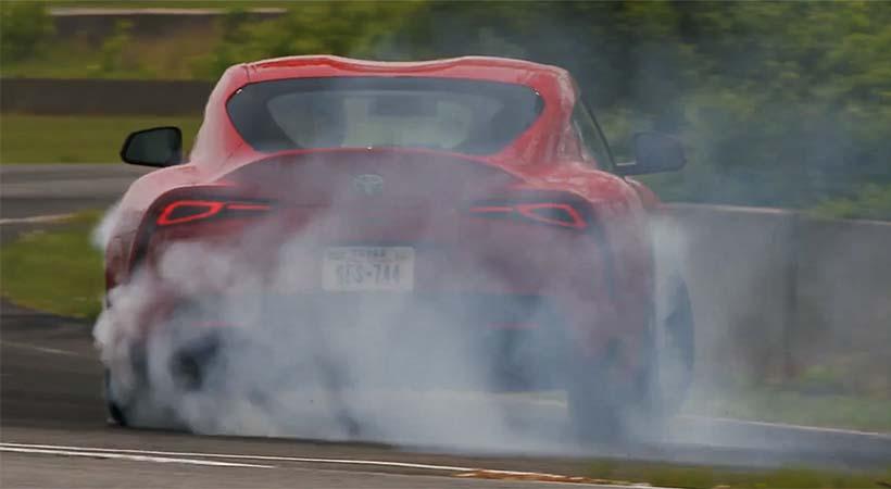 Test Drive Toyota Supra 2020